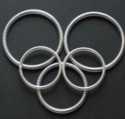 PTFE Encapsulated O Rings Stainless Steel Spring Core