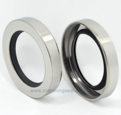 Single Lip PTFE Oil Seal with Stainless Steel Housing