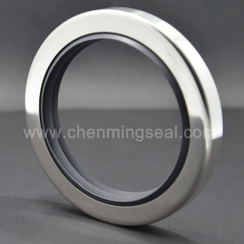 Triple Lip PTFE Oil Seals Stainless Steel Housing | PTFE Oil