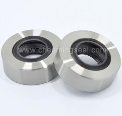 Stianless Steel PTFE Oil Seals With Triple Black Lip